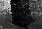 progetto per una istallazione 2007 pittura, carbone penna su cartacm50x35cm.tif